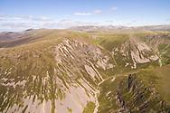 Coire Garbhlach in the Cairngorms National Park, Scotland.