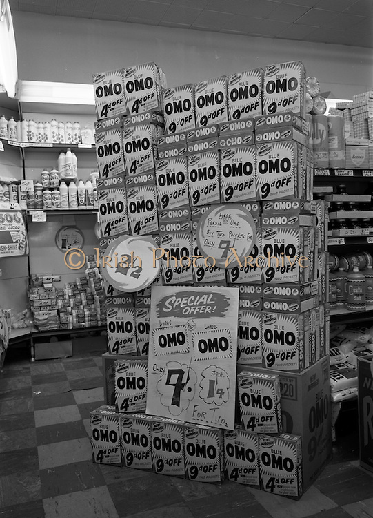 17/2/1966<br /> 2/17/1966<br /> 17 February 1966<br /> <br /> Displays at Rocks Stores Supermarket Talbot St. Dublin