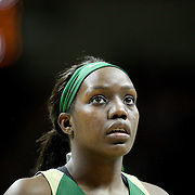 STORRS, CONNECTICUT- NOVEMBER 17: Beatrice Mompremier #32 of the Baylor Bears practicing her free throws before the UConn Huskies Vs Baylor Bears NCAA Women's Basketball game at Gampel Pavilion, on November 17th, 2016 in Storrs, Connecticut. (Photo by Tim Clayton/Corbis via Getty Images)