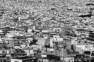 Athens, Greece - View over Athens. Greek economical crisis started in 2008. The so-called Austerity measures imposed to the country by the &ldquo;Troika&rdquo; (European Union, European Central Bank, and International Monetary Fund) to reduce its debt, were followed by a deep recession and the worsening of life conditions for millions of people. Unemployment rate grew from 8.5% in 2008 to 25% in 2012 (source: Hellenic Statistical Authority).<br /> Bruno Sim&otilde;es Castanheira