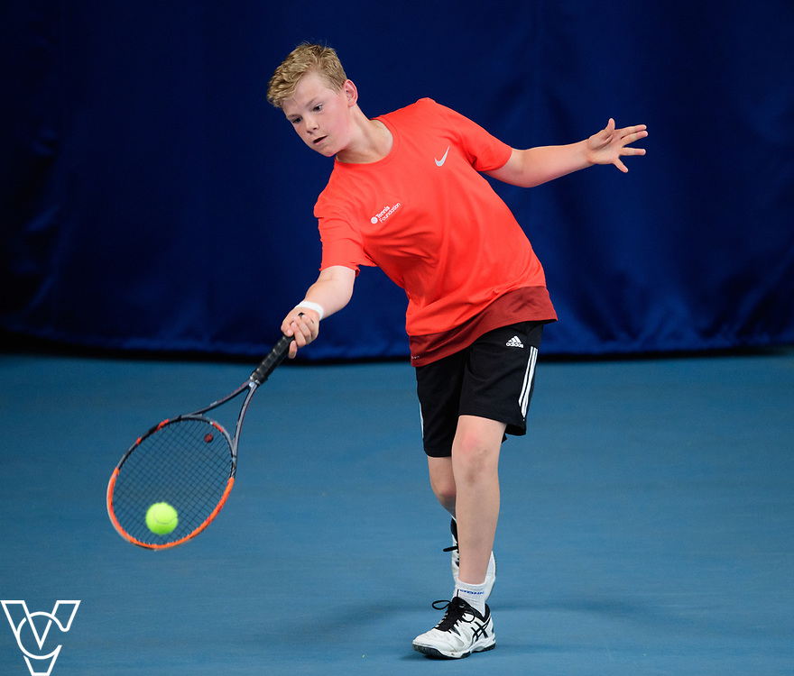 Team Tennis Schools National Championships Finals 2017 held at Nottingham Tennis Centre.  Bishop Stortford College<br /> <br /> Picture: Chris Vaughan Photography for the LTA<br /> Date: July 12, 2017