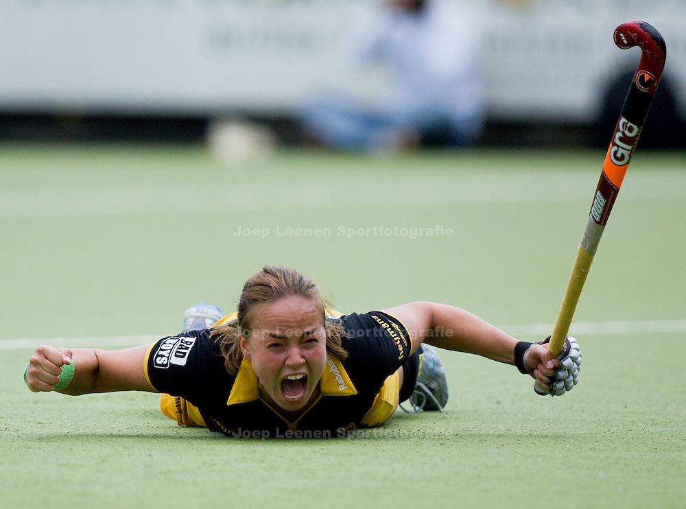 18-05-2008 DEN BOSCH; HOCKEY DAMES FINALE DEN BOSCH -  AMSTERDAM; Den Bosch wint ook de tweede finale en is Nederlands kampioen; Maartje Paumen heeft de winnende 3-2 gescoord; FOTO: JOEP LEENEN