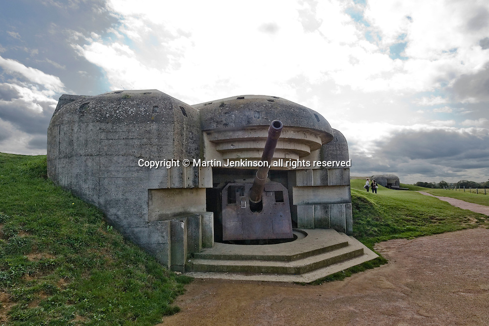 German World War Two heavy gun battery at Longues sur Mer ..., Travel, lifestyle