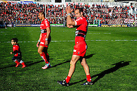Frederic MICHALAK - 05.04.2015 - Toulon / Londres Wasps - 1/4Finale European Champions Cup<br />Photo : Dave Winter / Icon Sport