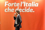 IL PRESIDENTE DEL CONSIGLIO MATTEO RENZI A TRENTO PER ELEZIONI COMUNALI 5 MAGGIO 2015