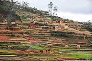 Madagascar, farmhouses