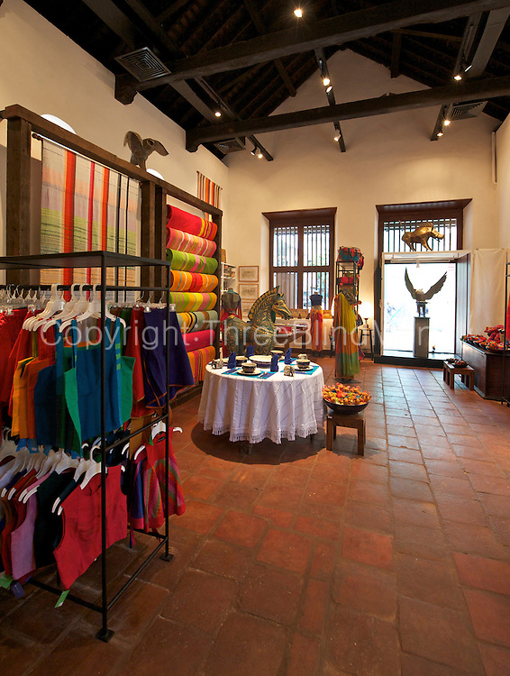 The BAREFOOT store at the Dutch Hospital site in the Fort, city of Colombo.
