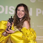 NLD/Amsterdam/20200211 - Uitreiking Edison Pop 2020, Maan de Steenwinkel wint een Award