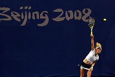 20080813 Olympics Beijing 2008, Tennis, Caroline Wozniacki (DEN) vs  Elena Dementieva (RUS)