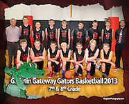 Gallatin Gateway Gators Boys Basketball 2013