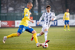 Zaletel and Sirk during football match between NŠ Mura and NK Celje in 18th Round of Prva liga Telekom Slovenije 2018/19, on December 2, 2018 in Fazanerija, Murska Sobota, Slovenia. Photo by Blaž Weindorfer / Sportida