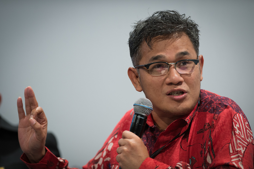 03 June 2015 - Belgium - Brussels - European Development Days - EDD - Inclusion - Social enterprise - Stemming the tide on income inequality - Budiman Sudjatmiko , Senior Member of Parliament , Indonesia © European Union