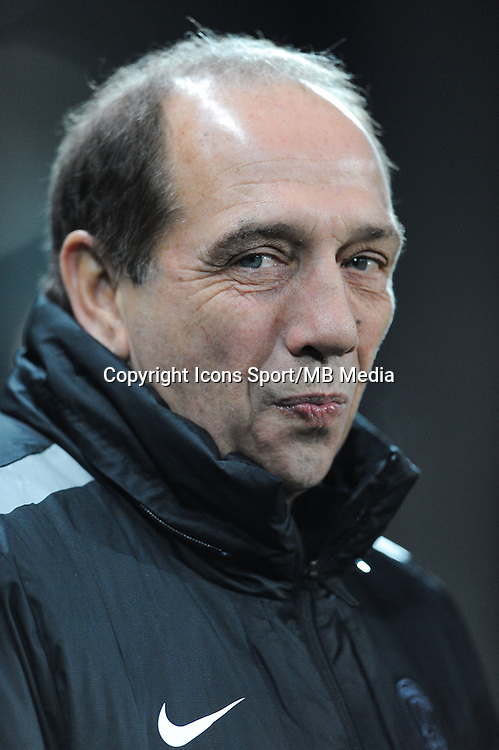 Jean Louis GASSET - 25.01.2015 - Saint Etienne / PSG - 22eme journee de Ligue1<br /> Photo : Jean Paul Thomas / Icon Sport