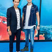 NLD/Amsterdam20160622 - Filmpremiere première van Disney Pixar's Finding Dory, Keanu Vischer en .........