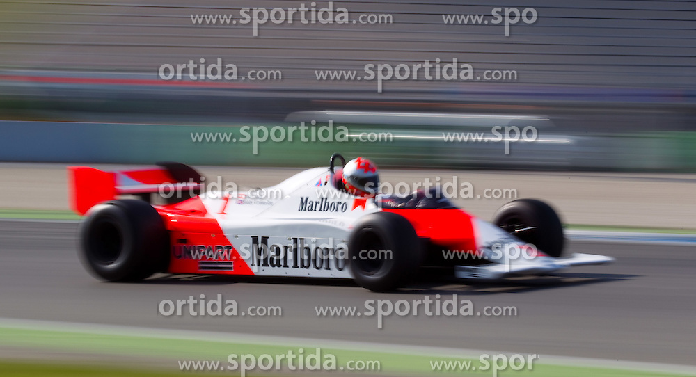 17.04.2010, Hockenheimring, Hockenheim, Hockenheim Historic, FIA Historic Formula One, im Bild von links Bobby Verdon-Roe, McLaren MP4, EXPA Pictures © 2010, PhotoCredit: EXPA/ A. Neis / SPORTIDA PHOTO AGENCY