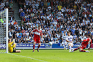 Loftus Road, London - Saturday 11th September 2010: Jamie Mackie (12) of QPR scores their third goal during the Npower Championship match between Queens Park Rangers and Middlesborough. (Photo by Andrew Tobin/Focus Images)