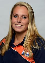 09-05-2014 NED: Selectie Nederlands zitvolleybal team mannen, Leersum<br /> In sporthal De Binder te Leersum werd het Nederlands team zitvolleybal seizoen 2014-2015 gepresenteerd / Amber Fleury