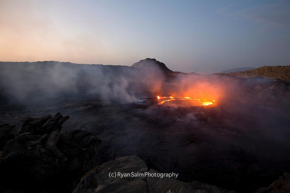 Erte Ale Volcano at dawn