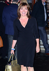 Lorraine Kelly attends the press night performance of 'I Can't Sing! The X Factor Musical' at the London Palladium, London, United Kingdom. Wednesday, 26th March 2014. Picture by Nils Jorgensen / i-Images