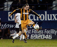 Photo: Leigh Quinnell.<br /> Luton Town v Hull City. Coca Cola Championship. 13/03/2007. Stuart Elliott wins the ball for Hull.