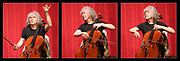 Former Artistic Director of Deal Music & Arts and now its Vice President, Steven Isserlis is acclaimed worldwide for his profound musicianship and technical mastery and enjoys a unique and distinguished career. Here he gives a Masterclass to three students from the Purcell School, Britain's oldest specialist music school. Picture features Steven Isserlis. © Tony Nandi 2019