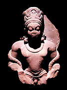 Mathura Gupta style sculpture of the Hindu god Vishnu circa AD 300-400, sandstone