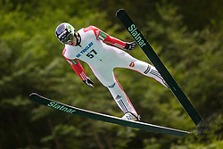 during Ski Jumping Continental Cup, on July 7th, Kranj, Slovenia. Photo by Ziga Zupan / Sportida