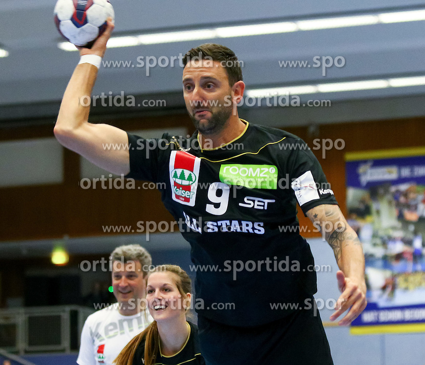 28.03.2015, BSFZ Suedstadt, Maria Enzersdorf, AUT, ÖHB Cup, All Star Game, im Bild Clemens Doppler (All Stars)// during the ÖHB Cup All Star Game at the BSFZ Suedstadt, Maria Enzersdorf, Austria on 2015/03/28, EXPA Pictures © 2015, PhotoCredit: EXPA/ Sebastian Pucher