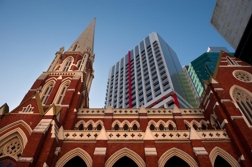 The City of Brisbane, Queensland, Australia.