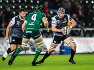 Dan Lydiate of Ospreys<br /> <br /> Photographer Simon King/Replay Images<br /> <br /> Guinness PRO14 Round 6 - Ospreys v Connacht - Saturday 2nd November 2019 - Liberty Stadium - Swansea<br /> <br /> World Copyright © Replay Images . All rights reserved. info@replayimages.co.uk - http://replayimages.co.uk