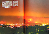 Paris Match Year Book of Pictures that make history. Double Page Spread by Tony Barson