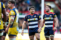 Gaston Cortes of Bristol Rugby looks on - Rogan Thomson/JMP - 26/12/2016 - RUGBY UNION - Ashton Gate Stadium - Bristol, England - Bristol Rugby v Worcester Warriors - Aviva Premiership Boxing Day Clash.