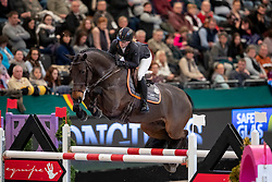 AUFFARTH Sandra (GER), Landlord<br /> Leipzig - Partner Pferd 2019<br /> IDEE Kaffe Preis<br /> CSI5*<br /> 18. Januar 2019<br /> © www.sportfotos-lafrentz.de/Stefan Lafrentz