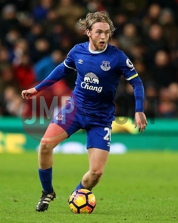 Tom Davies of Everton - Mandatory by-line: Matt McNulty/JMP - 01/02/2017 - FOOTBALL - Bet365 Stadium - Stoke-on-Trent, England - Stoke City v Everton - Premier League