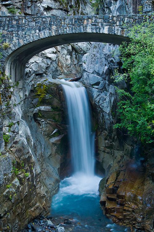 Christine Falls, Mount Rainier National Park, Washington.