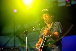 Donavon Frankenreiter no palco principal do Planeta Atlântida 2014/RS, que acontece nos dias 07 e 08 de fevereiro de 2014, na SABA, em Atlântida. FOTO: Vinícius Costa/ Agência Preview