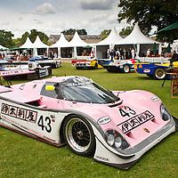 #43 Porsche 962-201, 3.0 litre, Richard Lloyd Itaiya Sports (1990), at Salon Privé Syon Park, London, UK, on 24 June 2011