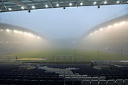 The American Express Community Stadium in thick fog before the EFL Sky Bet Championship match between Brighton and Hove Albion and Cardiff City at the American Express Community Stadium, Brighton and Hove, England on 30 December 2016.