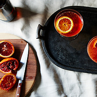 winter spritz cocktail blood orange campari cider