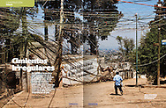 illustrated feature for Obras, about urban irregular foundations, january 2012