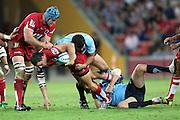 Michael Harris. Queensland Reds v NSW Waratahs. Investec Super Rugby Round 10 Match, 24 April 2011. Suncorp Stadium, Brisbane, Australia. Reds won 19-15. Photo: Clay Cross / photosport.co.nz