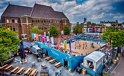 19-07-2018 NED: CEV DELA Beach Volleyball European Championship day 5<br /> Venue Neude Utrecht