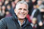 Northampton Town manager Keith Curle during the EFL Sky Bet League 2 match between Northampton Town and Forest Green Rovers at the PTS Academy Stadium, Northampton, England on 14 December 2019.
