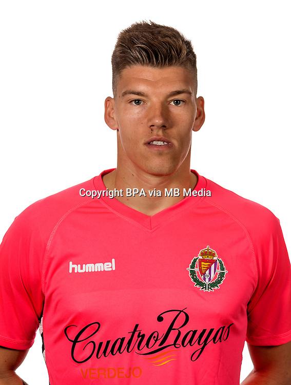 Spain - La Liga B 123 _ 2016-2017 / <br /> ( Real Valladolid C.F.) - <br /> Isaac Becerra Alguacil &quot; Isaac Becerra &quot;