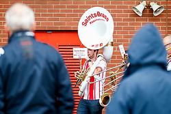 The Saints Brass band perform before kick off - Mandatory by-line: Ryan Hiscott/JMP - 12/08/2018 - FOOTBALL - St Mary's Stadium - Southampton, England - Southampton v Burnley - Premier League