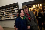 JESSICA VOORSANGER; BOB AND ROBERTA SMITH, Whitechapel celebrates its expansion into the building next door with an opening party. London. 2 April  2009