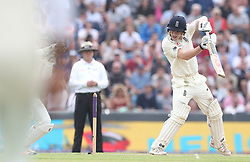 England's Dominic Bess is caught out by Pakistan's Sarfraz Ahmed (left) on 49 from the bowling of Pakistan's Shadab Khan during day two of the Second Natwest Test match at Headingley, Leeds.