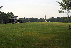 July 2007: General views and scenics of the battlefields at Chickamauga National Park in Georgia.  Attractions near Chattanooga Tennessee. Point Park, National Park Service - Lookout Mountain, TN.