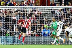 Goal, Shane Long of Southampton scores, Southampton 3-0 Vitesse Arnhem - Mandatory by-line: Jason Brown/JMP - Mobile 07966386802 - 31/07/2015 - SPORT - FOOTBALL - Southampton, St Mary's Stadium - Southampton v Vitesse Arnhem - Europa League