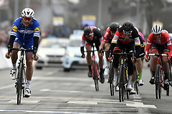 March 23, 2018 - Harelbeke, BELGIUM - Belgian Philippe Gilbert of Quick-Step Floors finishes second in the 61st edition of the 'E3 Prijs Vlaanderen Harelbeke' cycling race, 206,5 km from and to Harelbeke, Friday 23 March 2018. BELGA PHOTO ERIC LALMAND (Credit Image: © Eric Lalmand/Belga via ZUMA Press)